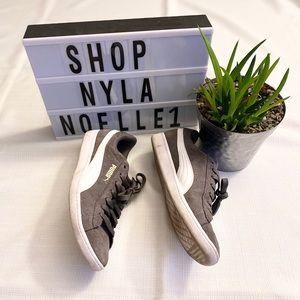 Women's suede Puma shoes